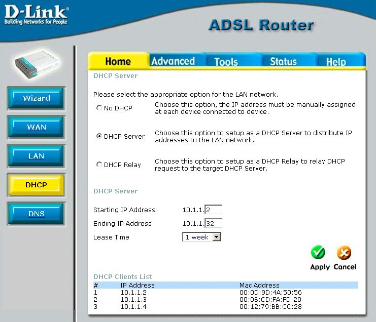 Dhcp server not assigning ip addresses